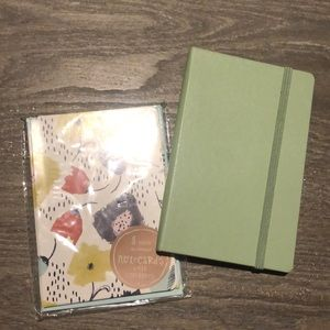 Small Moleskine Journal and set of note cards